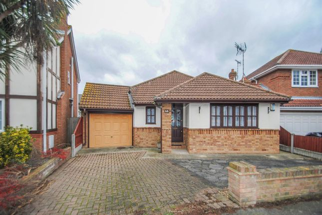 Thumbnail Detached bungalow for sale in Papenburg Road, Canvey Island