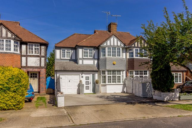 Thumbnail Semi-detached house to rent in Hollington Crescent, New Malden