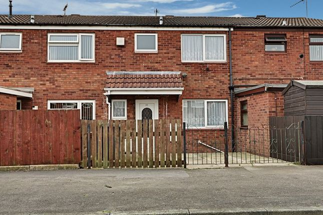 Thumbnail Terraced house for sale in Cormorant Close, Bransholme, Hull