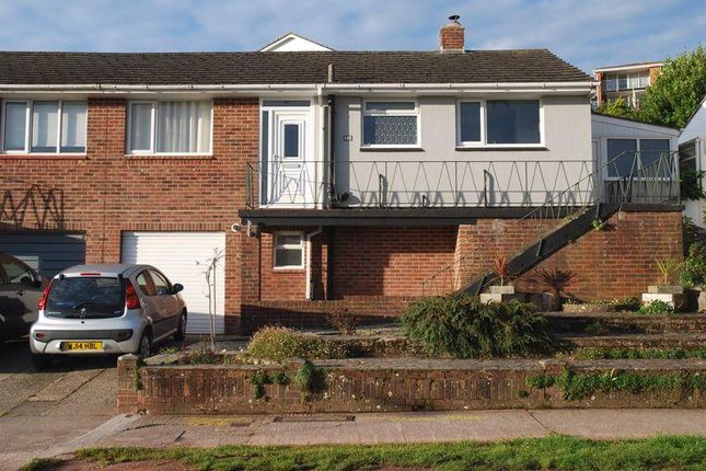 Thumbnail Semi-detached house for sale in Perinville Road, Torquay
