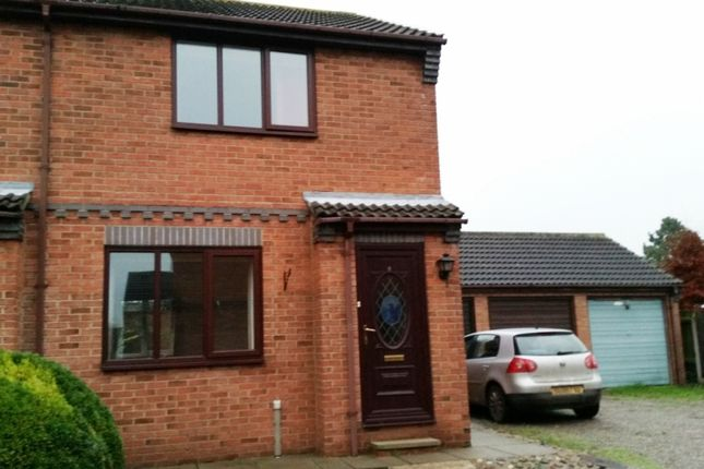 Thumbnail Semi-detached house to rent in Jevans Court, Eastgate South, Driffield
