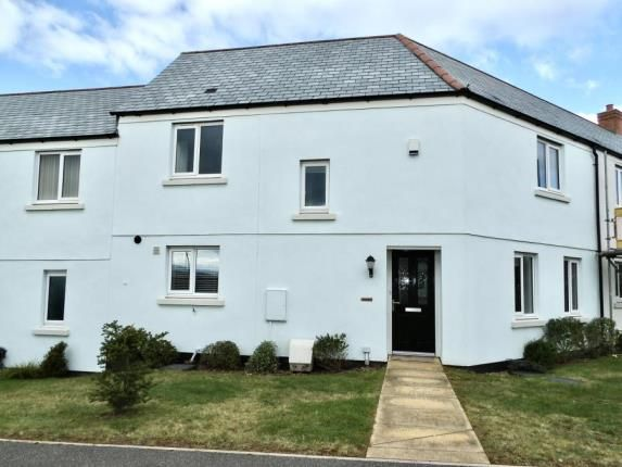 Thumbnail Terraced house for sale in Cornfield Way, North Tawton