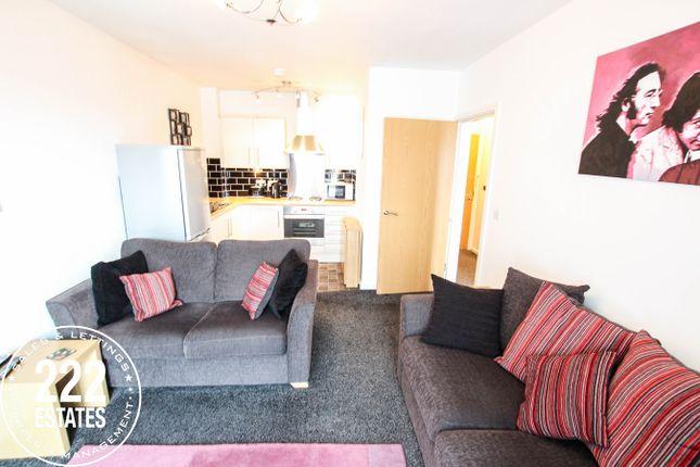 1 bed flat for sale in Greenings Court, Warrington WA2