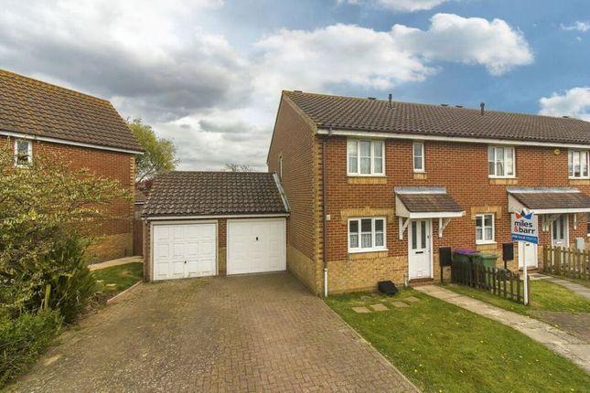 Thumbnail Semi-detached house to rent in Kettle Drive, Hawkinge, Folkestone