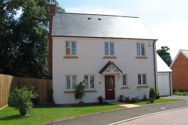 Thumbnail Detached house to rent in Massey Road, Tiverton, Devon