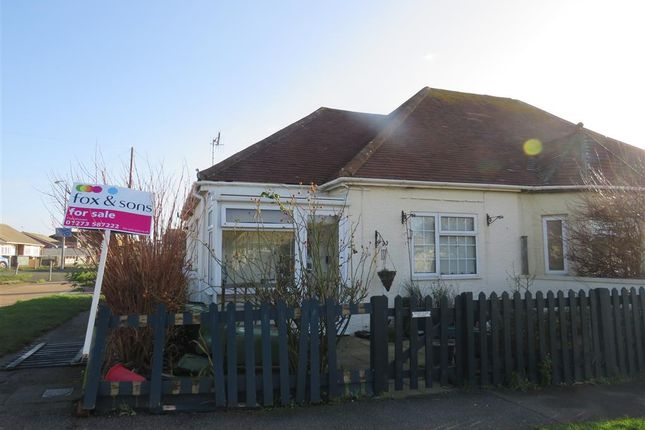 Thumbnail Semi-detached bungalow for sale in Edith Avenue, Peacehaven