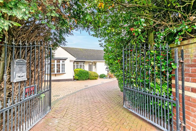 Thumbnail Detached bungalow for sale in York Road, Grappenhall, Warrington