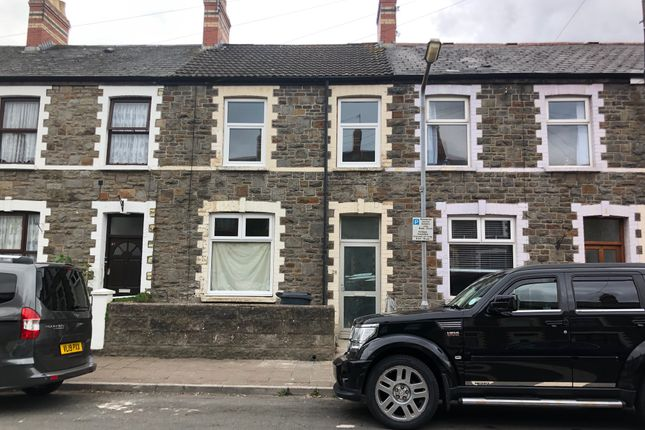 Thumbnail Terraced house to rent in Bertram Street, Cardiff