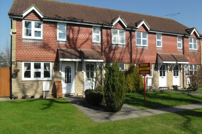 Thumbnail Terraced house to rent in Ontario Close, Smallfield, Horley