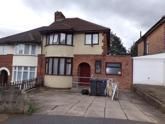 Thumbnail Semi-detached house for sale in Emery Close, Erdington, Birmingham, West Midlands