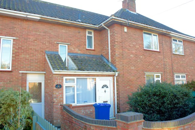 Thumbnail End terrace house to rent in Parmenter Road, Norwich, Norfolk