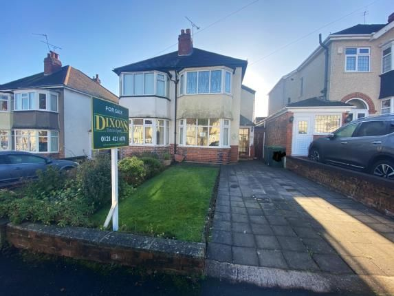 Thumbnail Semi-detached house for sale in Chestnut Road, Oldbury, Birmingham, West Midlands