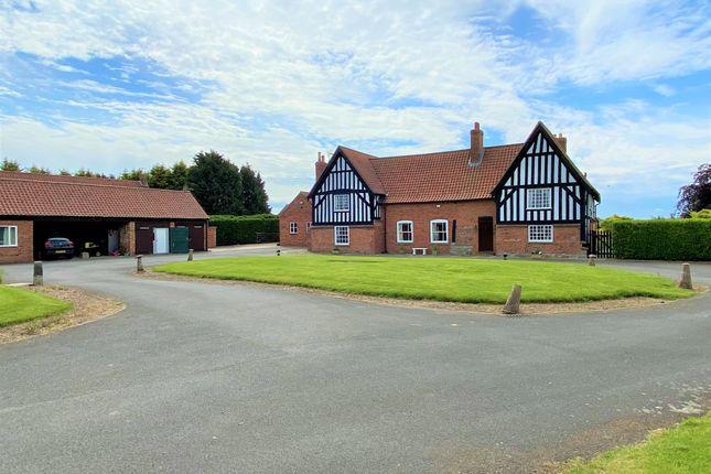 Thumbnail Detached house for sale in The Gables Farm, Ollerton Road, Little Carlton