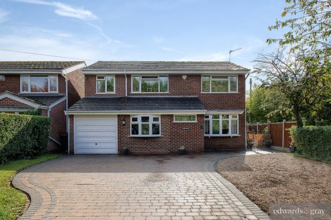 Thumbnail Detached house for sale in Kingsbury Road, Marston, Sutton Coldfield