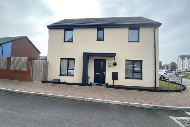 3 bed end terrace house for sale in Heol Livsey, The Quays, Barry, Vale Of Glamorgan CF62