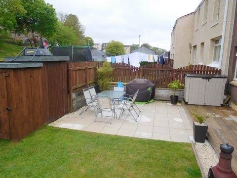 Thumbnail Terraced house for sale in Muirdykes Avenue, Port Glasgow