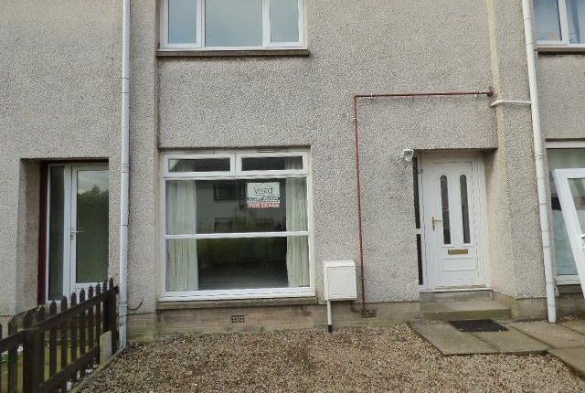 Thumbnail Terraced house to rent in Restenneth Drive, Forfar