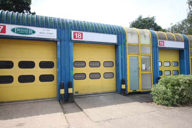 Thumbnail Industrial to let in 18 Enterprise Estate, Station Road West, Ash Vale Nr, Aldershot