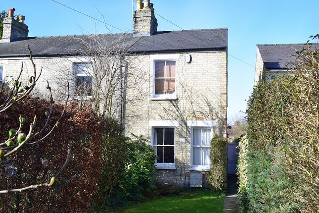 Thumbnail End terrace house to rent in Burnside, Cambridge