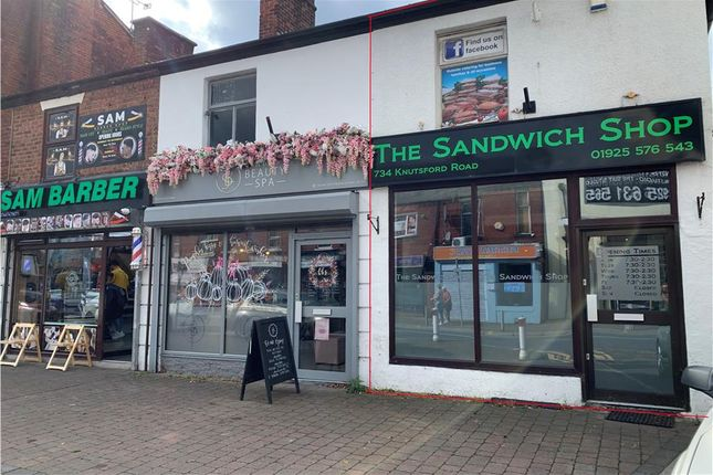 Thumbnail Retail premises to let in 734 Knutsford Road, Warrington, Cheshire