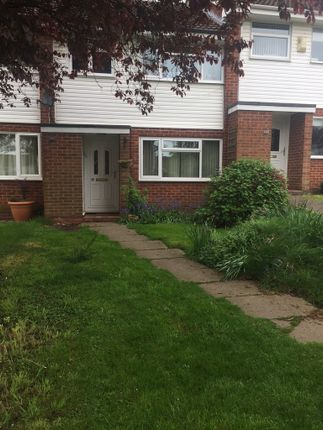 Thumbnail Terraced house to rent in Yardley Close, Warwick