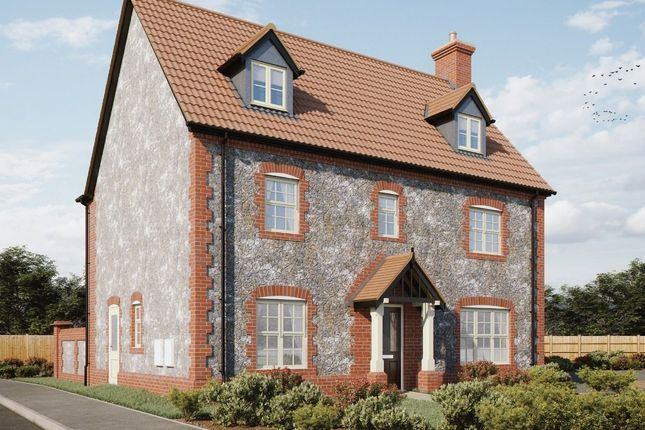 Thumbnail Detached house for sale in Plot 10, Heath Farm, Holt