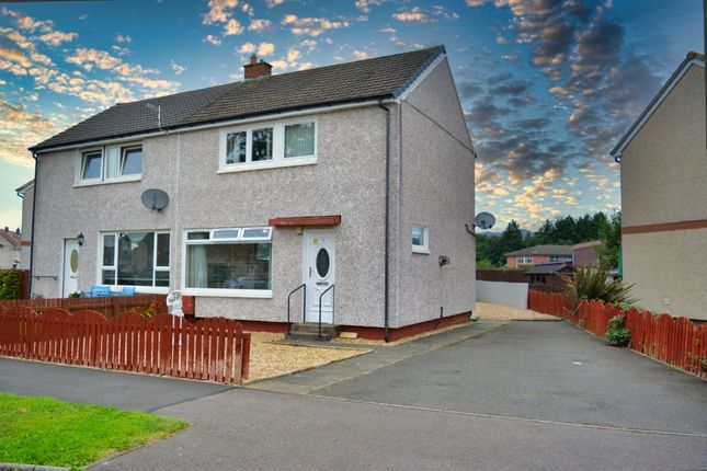 Thumbnail Semi-detached house for sale in Lamont Crescent, Fallin, Stirling