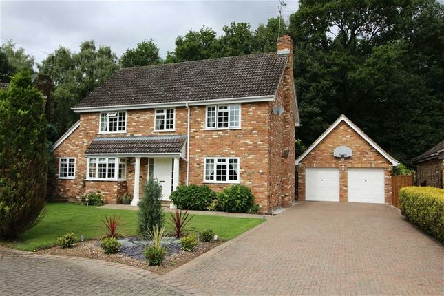 Thumbnail Detached house for sale in Mardley Dell, Oaklands, Welwyn, Hertfordshire