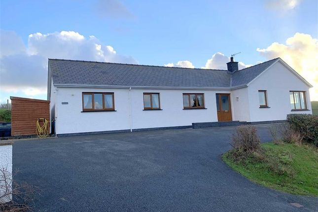 Thumbnail Detached bungalow for sale in Goitre Road, Aberaeron, Ceredigion