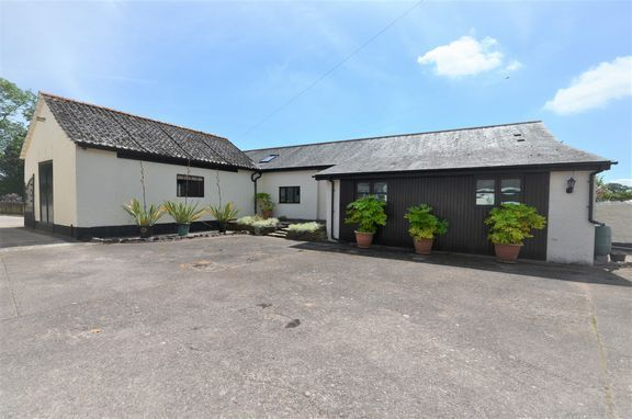 Thumbnail Detached bungalow for sale in Willand Road, Halberton, Tiverton