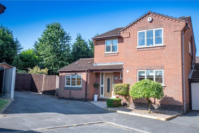 Thumbnail Detached house for sale in Windsor Close, Heanor