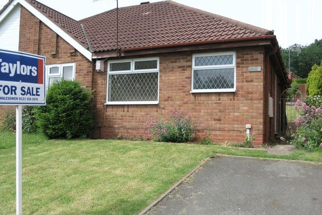 Thumbnail Semi-detached bungalow for sale in Barrs Road, Cradley Heath