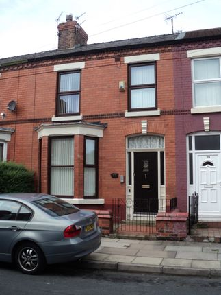 Thumbnail Terraced house to rent in Avondale Road, Liverpool, Merseyside