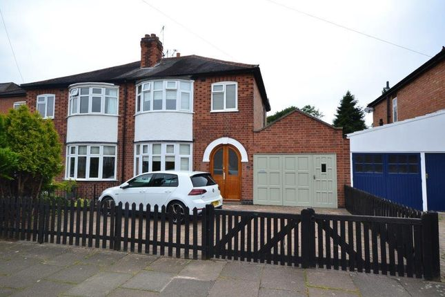 Thumbnail Semi-detached house for sale in Brinsmead Road, Leicester
