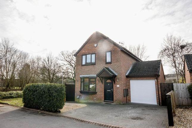 Thumbnail Detached house for sale in Carey Close, Grange Park, Swindon
