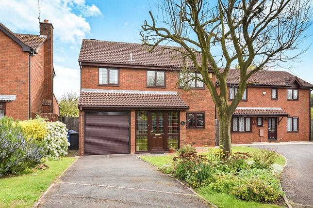 Thumbnail Detached house for sale in Slaidburn Close, Mickleover, Derby