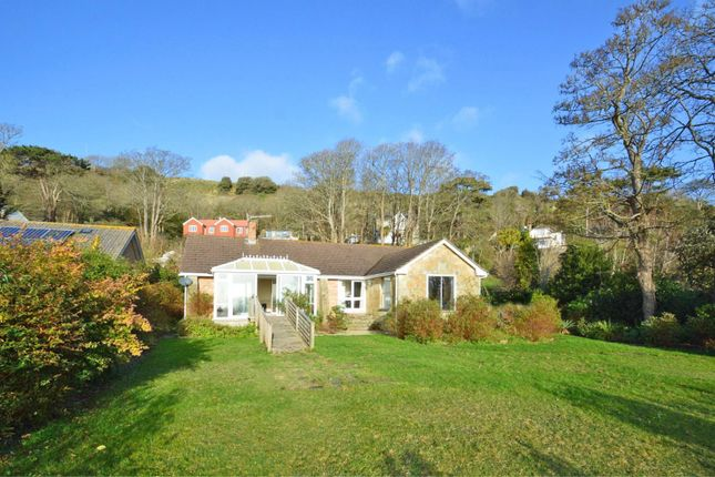 Thumbnail Detached bungalow for sale in Hunts Road, St. Lawrence, Ventnor
