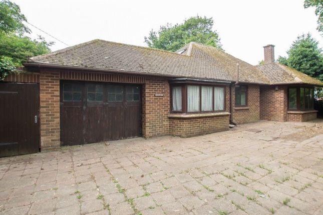 Thumbnail Detached bungalow for sale in London Road, Sholden, Deal