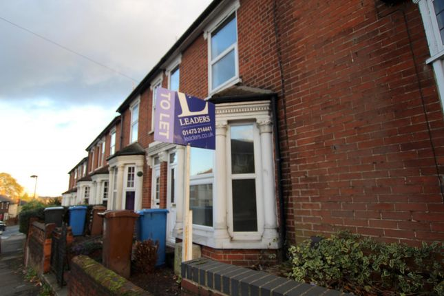 Thumbnail Terraced house to rent in Belstead Road, Ipswich