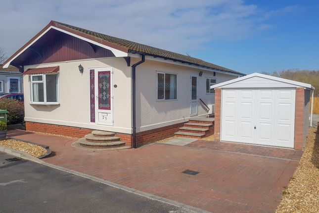 Thumbnail Mobile/park home for sale in Pound Road, Beccles