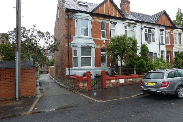 Chatsworth Grove, Whalley Range, Manchester. M16