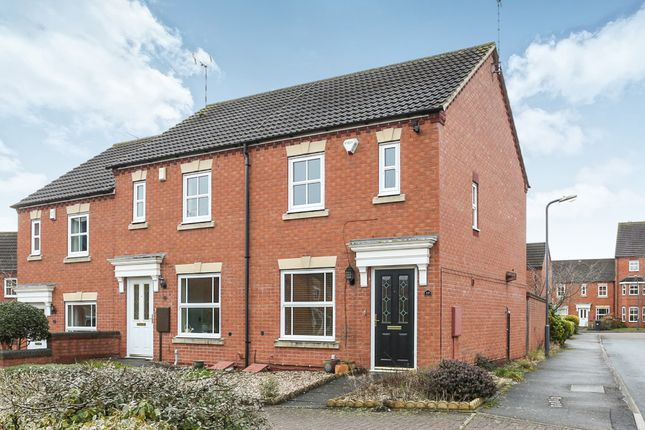 Thumbnail End terrace house for sale in Dey Croft, Chase Meadow Square, Warwick
