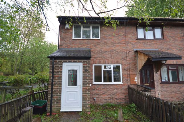 Thumbnail End terrace house to rent in Walsham Close, London