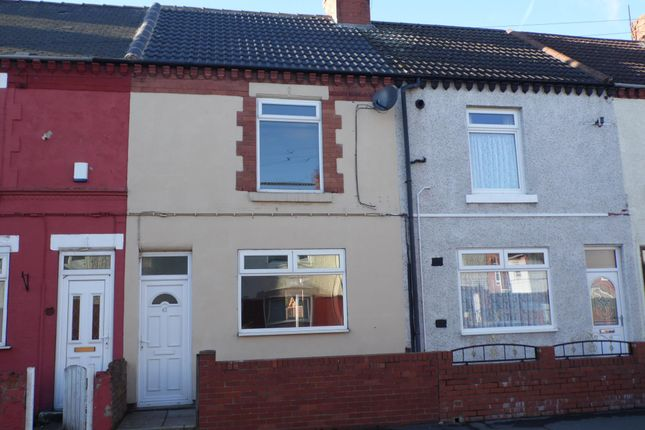 Thumbnail Terraced house to rent in Kings Road, Askern, Doncaster