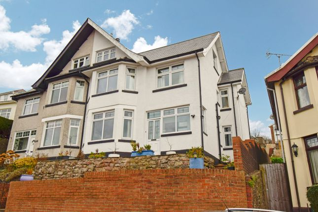 Thumbnail Semi-detached house for sale in Ty-Gwyn Road, Pontypridd