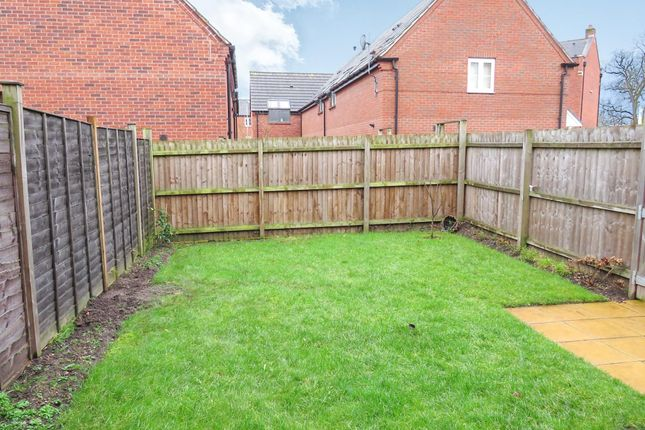 Garden of Shielding Way, Stafford ST16