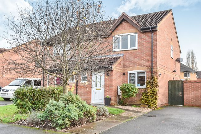 Thumbnail Semi-detached house for sale in Beamwood Close, Oakwood, Derby
