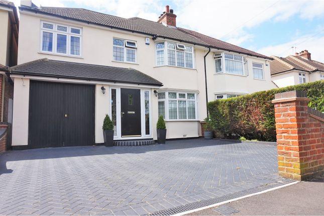 Thumbnail Semi-detached house for sale in Lyndhurst Road, Bexleyheath