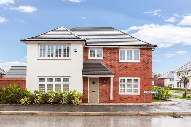 Thumbnail Detached house for sale in Aspen Close, Congleton