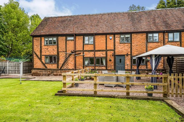 Thumbnail Barn conversion for sale in Worcester Road, Torton, Kidderminster